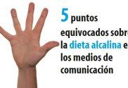 5 puntos dieta alcalina